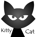 Kitty cat cartoon avatar