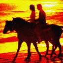 Horse Riding At Sunset avatar