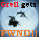 Grell gets PWND avatar