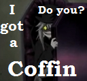 My coffin, your coffin avatar
