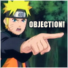 Objection by Naruto avatar