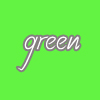 Green color avatar