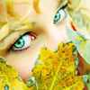 Eyes with leafs avatar