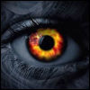 Fire eye avatar