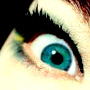 greeny blue eye avatar