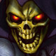 Skeletor face avatar
