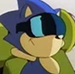 Sonic the Hedgehog cartoon avatar