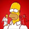 Angel and devil Homer