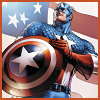 Captian America with shield avatar