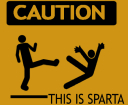 Caution: This is Sparta avatar