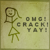 OMG Crack Yay avatar
