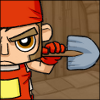 Worker with shovel avatar