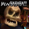 Murray the talking skull avatar