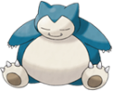 Snorlax sleeps avatar