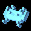 3d invader blue avatar