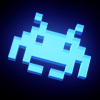 Blue invader avatar
