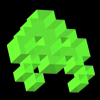 Green invader avatar