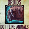 Druids do it like animals avatar