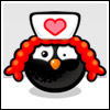 Nurse chick black avatar