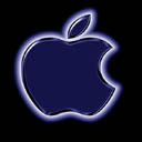 Apple Logo In Black and Blue 16 17 avatar