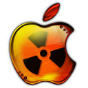 Radioactive apple avatar