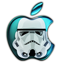 Stormtrooper apple avatar
