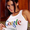 Google t-shirt woman avatar