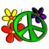 Peace flowers avatar