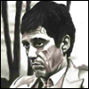 Scarface Black & White