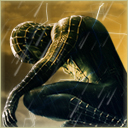 Black Spiderman avatar