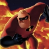 Mr Incredible Over Lava