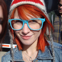 Hayley funny glasses avatar