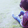 Sitting on the grass avatar