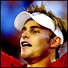 Andy Roddick cheering avatar