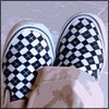 Checkered shoes avatar