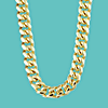 Gol chain for your profile avatar