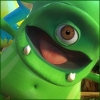 Green monster avatar
