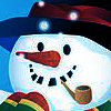 Snowman with a pipe avatar