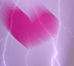 Lightning heart avatar