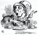 Mad Hatter at the table avatar