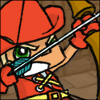 Archer with bow avatar