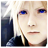 Cloud blue eyes avatar