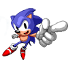 Sonic points avatar