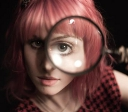 Hayley magnifying glass avatar
