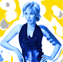 Kylie yellow and blue avatar