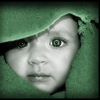 Baby in green avatar