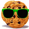 Cookie with glasses avatar
