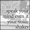 Speak, even if it shakes avatar